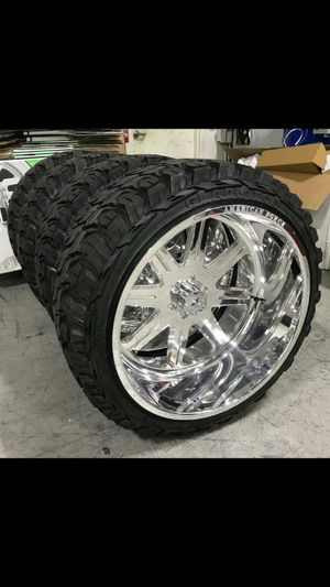 26x12 MONKEY RIMS AND TIRES 35125026 for Sale in Phoenix, AZ
