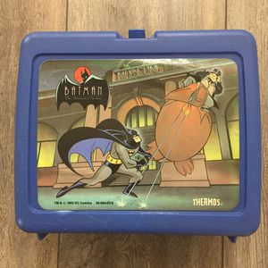 vintage batman thermos brand lunchbox for Sale in Dallas, TX