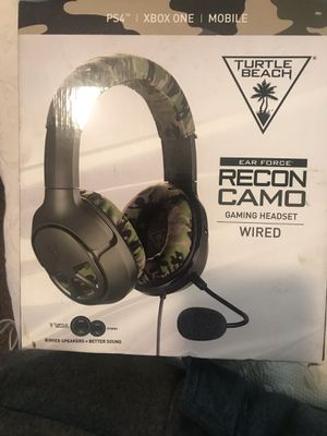 Ps4 turtle beach gaming headset for Sale in Fresno, CA