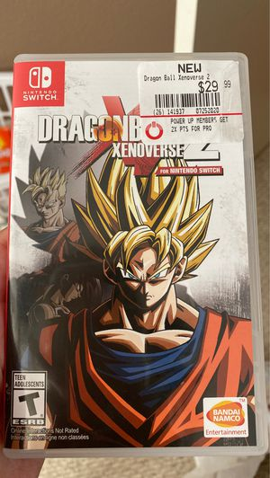 Dragonball Xenoverse 2 Nintendo Switch for Sale in Chandler, AZ
