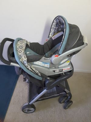 GRACO fast action fold Travel System (stroller and car seat) for Sale in Orlando, FL
