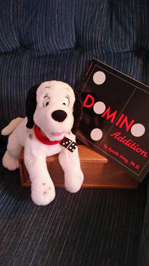 DOMINO THE DOG WITH DOMINO ADDITION BOOK - EDUCATIONAL for Sale in Valley View, OH
