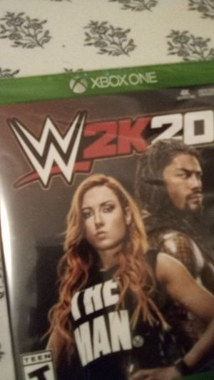 WWE 2k20. Xbox one. $40 for Sale in Lancaster, TX