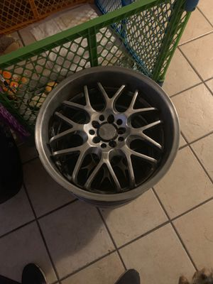 5x100 18in rims for Sale in Bloomington, CA