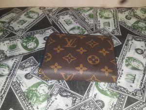 Louis Vuitton Monogram wallet for Sale in Rosedale, MD