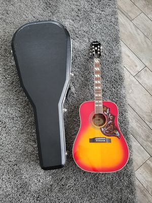 Epiphone Hummingbird and Case for Sale in Cheshire, CT