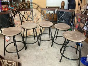 5 high chairs for Sale in Princeton, NJ