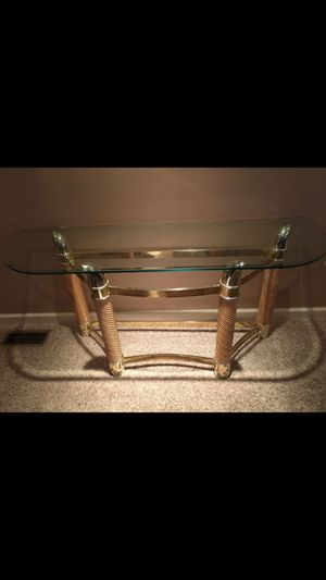 Glass Entrance Coffee Sofa Table for Sale in Oakdale, PA