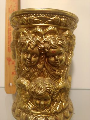 Gold cherub candle holder for Sale in Federal Way, WA