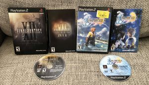 Final Fantasy XII PS2 Steel Book Collector's Edition & Final Fantasy X -Complete for Sale in Fresno, CA