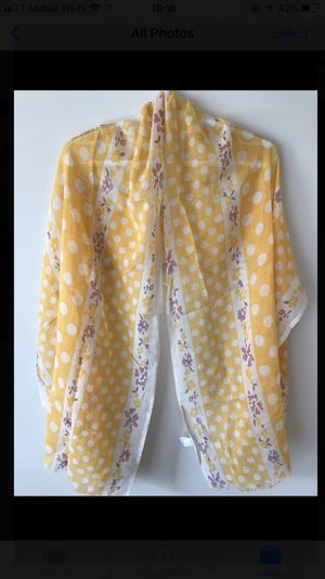 Yellow and pink floral scarf 💛🌸 for Sale in Centreville, VA