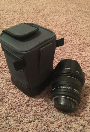 Sigma 50 mm Lens for Sale in Tulsa, OK