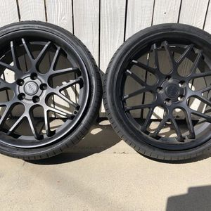 "5x112 20"" Eurotek Staggered for Sale in Cypress, CA"