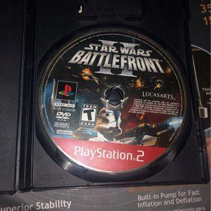 STARWARS BATTLEFRONT 2 For PS2 for Sale in Phoenix, AZ