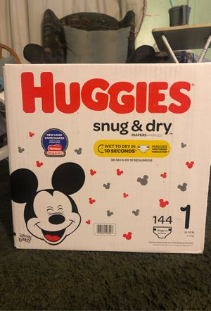 Huggies diapers size 2 for Sale in Industry, CA