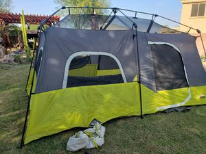Camping Tent CORE 9 9x14 Instant Tent for Sale in Goodyear, AZ