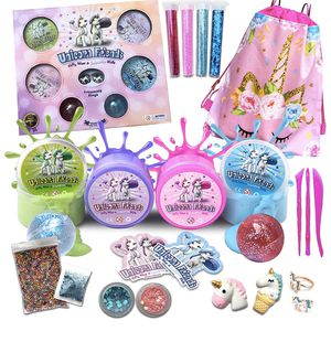 New unicorn slime kit supplies (pick up only) for Sale in Alexandria, VA