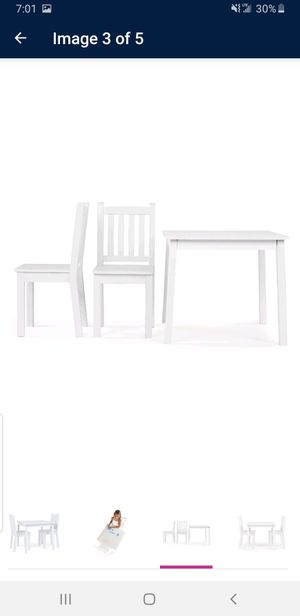 Kids table + 2 chairs for Sale in Chicago, IL