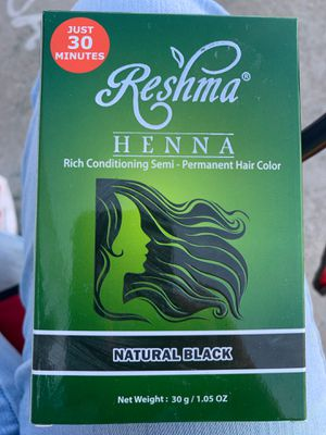 Henna hair color black for Sale in Rancho Cucamonga, CA
