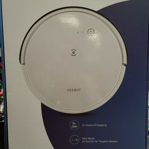 New Ecovacs Deebot 665 Multi-Surface Wi-Fi and App Controlled Robot Vacuum and Mop - White for Sale in Metairie, LA