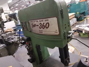 Band Saw - Enco 360 Metal Cutting Band Saw for Sale in Chelmsford, MA