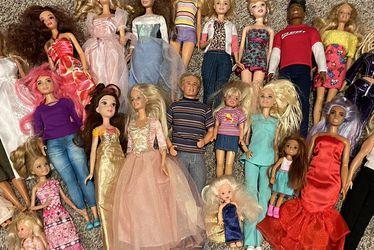 25 Dolls - Barbie, Ken, etc. for Sale in Thousand Oaks,  CA