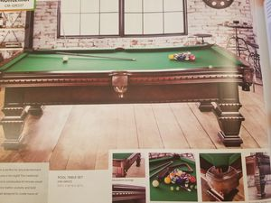 Cherry pool table for Sale in Madera, CA