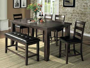 NEW 6pieces Dinning Table Chairs Bench for Sale in Ontario, CA
