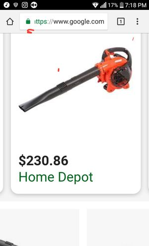 Leaf blower for Sale in Manteca, CA