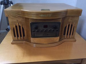 Philco record CD Tape radio player for Sale in Gilbert, AZ