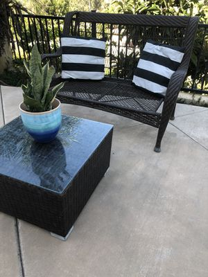 Outdoor patio furniture set high quality wicker weather proof for Sale in Del Mar, CA