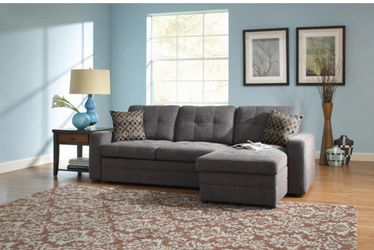 Gus 2pc sleeper sectional free delivery for Sale in Riverdale,  GA