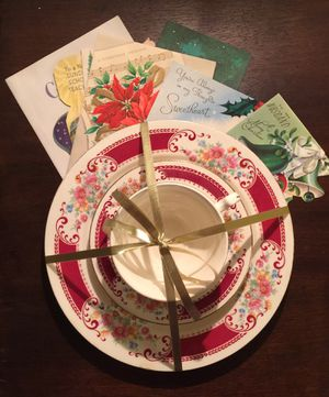 Homer Laughlin Vintage china place setting for Sale in Clovis, CA