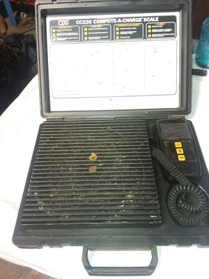 CPS cc220 compute-a-charge scale for Sale in Greenfield, IN