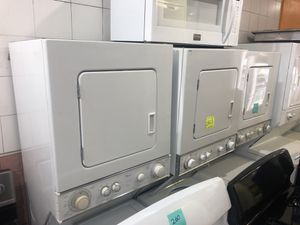 Gas and electric stack washer/dryers for Sale in Philadelphia, PA