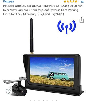 Wireless back up camera for Sale in Medford, MA