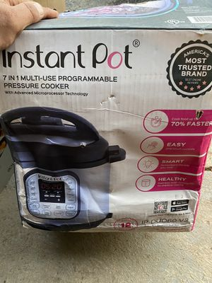 Instant pot for Sale in Columbus, OH
