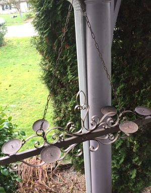 Vintage Wedding or Rustic Decor Metal Candelabra for Sale in Everett, WA