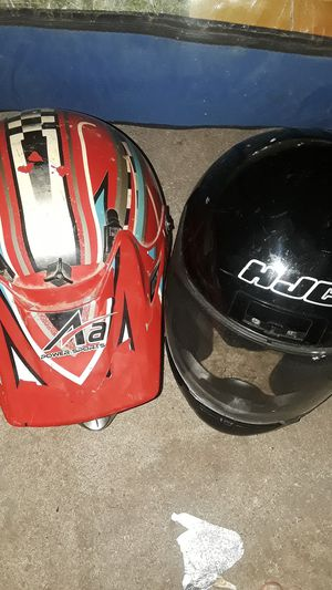 Two motorcycle helmets for Sale in Arkansas City, KS