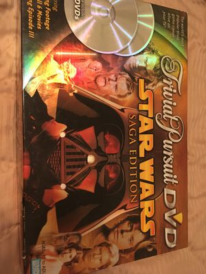 Trivial Pursuit DVD STAR WARS: Saga Edition for Sale in Frederick, MD