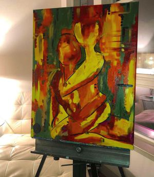 "22""x28"" Custom Canvas Painting for Sale in Salt Lake City, UT"