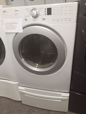 LG front load gas dryer in exelent condition for Sale in Baltimore, MD