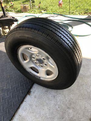 1 > LT 245-75-16 Spare GM Truck/SUV steel wheel & tire for Sale in Nashville, TN