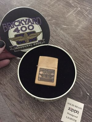 Limited Edition Brickyard 400 Inaugural Race Zippo Lighter for Sale in Simpsonville, SC