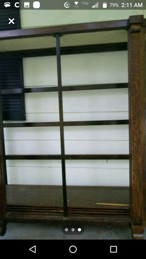 Solids AND wood antique curio cabinet. In great condition. for Sale in Knoxville, TN