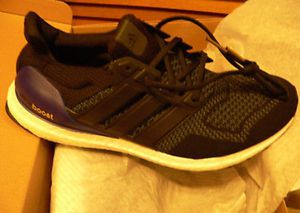 3db8a290e03e Adidas ULTRA BOOST 1.0 OG Black Purple Men s Size 11.5 (2018) G28319 New
