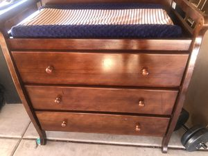 Three drawer Changing table for Sale in Phoenix, AZ