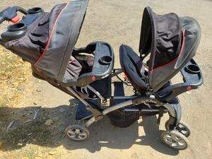 Baby trend double stroller for Sale in Perris, CA