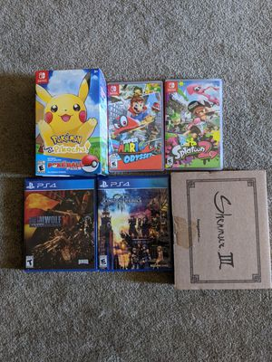 Nintendo Switch and PS4 Games for Sale in Tustin, CA