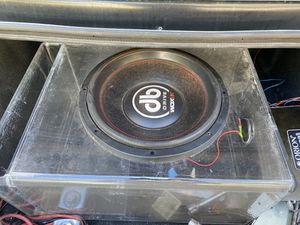 DB Drive 15 & Orion Amp for Sale in Columbia, SC